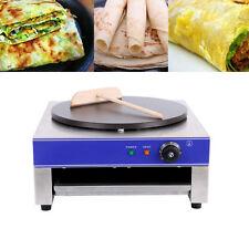 Électrique 3000 W Pancake Crêpe Maker Non Stick Large Plaque + Accessoires Gratuits