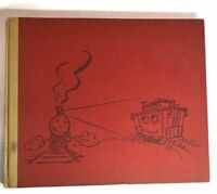 Chuggy and The Blue Caboose Train Book 1951 First Edition Art Railroad Kids