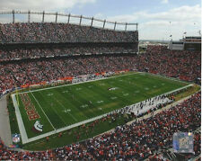 SPORTS AUTHORITY FIELD DENVER BRONCOS 8 X 10 PHOTO WITH ULTRA PRO TOPLOADER