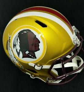 Washington Redskins NFL Full Size Speed Replica Blaze Helmet Unsigned Riddell