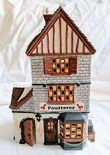 Dept 56 Heritage Village Dickens' Village Series Poulterer 59269 Retired