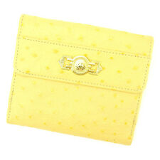 Auth Gianni Versace Double SidedWallet Wallet unisexused J19848