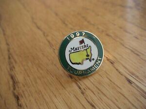 1997 MASTERS GOLF AUGUSTA NATIONAL BALL MARKER TIGER WOODS RARE NEW PGA