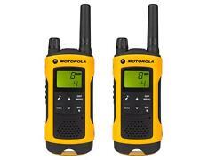 Motorola Paire de talkies walkies Motorola T80EX portée en champs libre 10km...