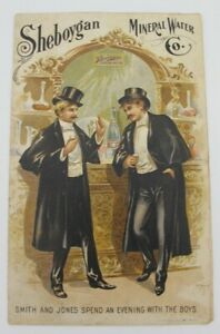 Vtg Sheboygan Mineral Water Co Paper Advertisement C Person's Sons Buffalo NY