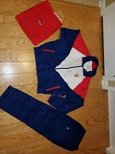 Shoprite Golf Classic JMN Apparel XL golf suit with bag Red/White/Blue