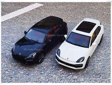 1/18 MINICHAMPS Porsche Cayenne Turbo S 2017 Diecast Model Car Gift Black/White