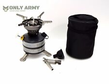 Ex Army Portable Petrol Stove Cooker Military Camping Outdoor Survival (450ml)