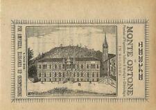 Stampa antica pubblicità TERME DI MONTEORTONE Abano Padova 1889 Antique print