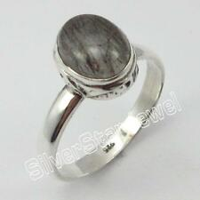 925 Sterling Silver Genuine BLUE LACE AGATE Ring Size 10 1/4 ! Gemstone Jewelry