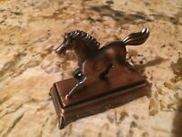 Horse Galloping on Stand Die Cast Metal Collectible Pencil Sharpener