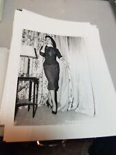 4 X 5 ORIGINAL NEGATIVE PHOTO FROM IRVING KLAW ARCHIVES OF MODEL SANDRA P #1