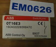ABB 0T16E3, 1SCA022283R8470, Manual Disconnect Switch 3Pole 16a-600v - NEW