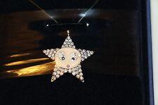 New $125 Swarovski Crystal Authentic Signed Star Erika Necklace Pendant 1024553