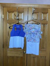 Denise Cronwall Tennis 3 Piece Outfit, Med, EUC