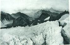 Yosemite NATIONAL PARK LYELL GLACIER SIERRA NEVADA ~ 1888 Landscape Art Print