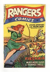 Rangers Comics #55 VG+ 4.5 1950