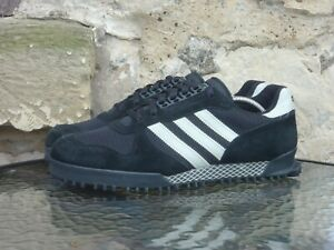 2002 Adidas Originals Marathon TR UK10.5 / US11 Rare Black Off White OG Vintage