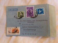 4 Briefmarken Indien 1958 - 1967
