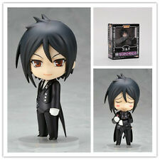 New PVC Nendoroid 68 Sebastian Michaelis Black Butler Smile toy doll 10cm in box