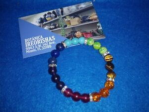 Brasalete Bracelet Pulsera DE LAS 7  SIETE CHAKRAS  CHAKRA  para  buena suerte