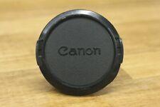 Canon C-55mm Original Lens Cap BLACK 55 GENUINE  F/S  From Japan