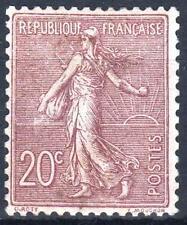 "FRANCE  STAMP TIMBRE N° 131 "" SEMEUSE LIGNEE 20c  BRUN-LILAS "" NEUF xx TTB M461"