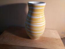 Gmundner Keramik gelb Vase Höhe ca. 20 cm gebraucht