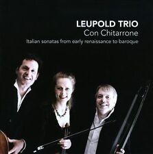 NEW Con Chitarrone: Italian Sonatas From Early (Audio CD)