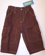 NWT Gymboree Stunt Pilot Brown Cargo Pants ~ Boy's 6-12 Month ~