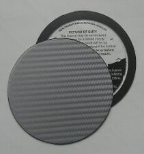 magnetic tax disc holder carbon fibre fits opel golf bmw vw volvo and kit cars