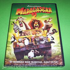MADAGASCAR 2 DREAMWORKS DVD NUEVO Y PRECINTADO