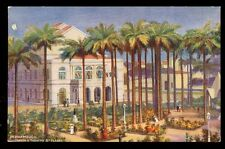 Brazil Pernambuco Jardine 7 Theatre Tuck Royal Mail Steam Packet Vintage PPC