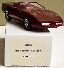 GM 1988 CORVETTE DARK RED ROADSTER PROMOTIONAL MODEL NEW IN THE BOX