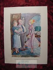 Color Esquire Cartoon SHERMOND Parents with girl about to go on a date