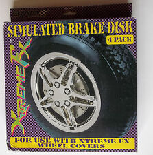 **Universal Simulated Disk Brake Covers ( For use with Xtreme FX Wheel Covers)