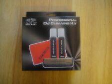 DJ VINYL RECORD CLEANING KIT Carbon brush, antistatic fluids for disc & stylus