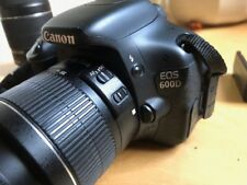 Canon EOS 600D / EOS Rebel T3i 18.0MP Digitalkamera (Kit mit EF-S 55-250 u 18-55