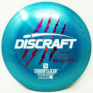 Undertaker Ti First Run Claws McBeth 4X 175g New Discraft PRIME Disc Golf Rare