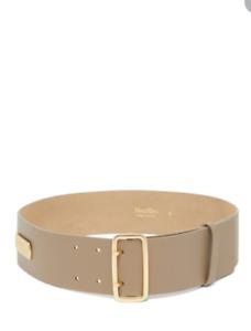 MAX MARA , ZUPPA Leather Belt Size M
