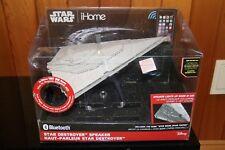 STAR WARS Bluetooth Speaker DESTROYER iHome Wireless Cell Phone MP3 Star Wars