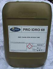 OLIO IDRAULICO ISO 68 BIDONCINO DA 10 LITRI FLUIDO HYDRO ANTIUSURA ANTISCHIUMA