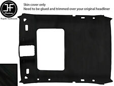BLACK STITCH SUNROOF ROOF HEADLINING LUXE SUEDE COVER FOR BMW 3 E36 92-98 COUPE