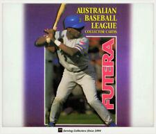 Baseball Trading Cards Set Futera 1995 Season
