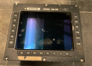 BARCO Military helicopter lynx MK9 Aircraft Computer Screen Data Display System