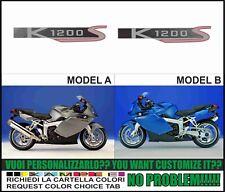 kit adesivi stickers compatibili K1200 S 2005 2006