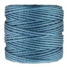 S-LON 0.9mm Macrame Cord Tex 400 knotting thread Caroline Blue