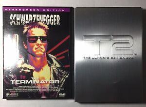 The Terminator & Terminator 2 Judgement Day (DVD, 2000, Ultimate Edition)