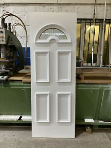 UPVC Door Panel, WHITE, 630mm Wide By 1760mm Height, 28mm Thick, (P200)