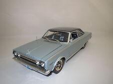 """Highway 61  Plymouth  Belvedere  """"1967""""  (eisblau-met.) 1:18 ohne Verpackung !"""